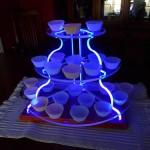 espositore cupcake eccentrico