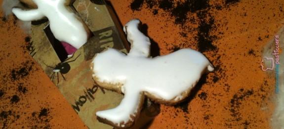Biscotti fantasma di halloween