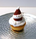 Cup cake con Babbo Natale