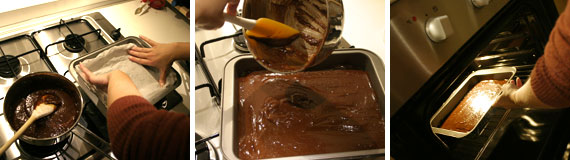 cucinare i brownies
