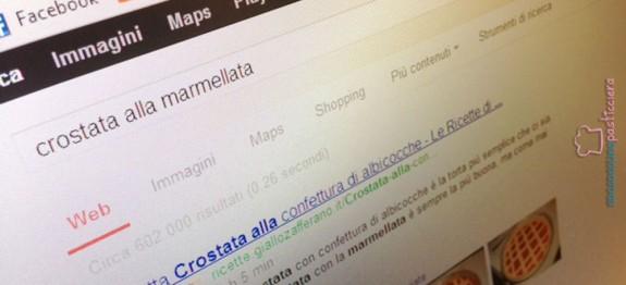 crostata alla marmellata google