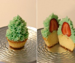 Cupcake Albero di Natale