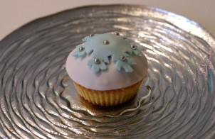 Cupcake fiocco di neve