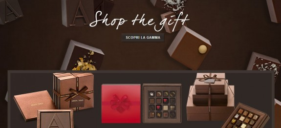 san valentino armani dolci cioccolatini