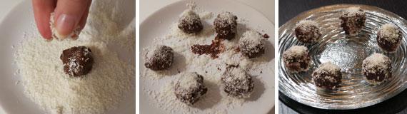 pandoro, cioccolato e cocco