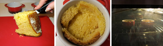 pandoro e crema al mascarpone