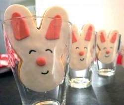 Biscotti coniglietti Pasqua pasta frolla
