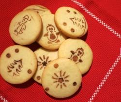biscotti natalizi cacao