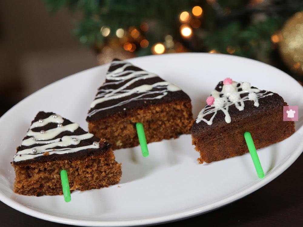 Alberelli Dolci Di Natale.Ricetta Alberelli Natalizi Di Cioccolato Nonsonounapasticciera It