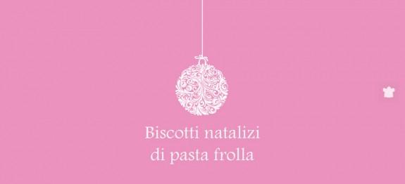 Biscottini natalizi di pasta frolla