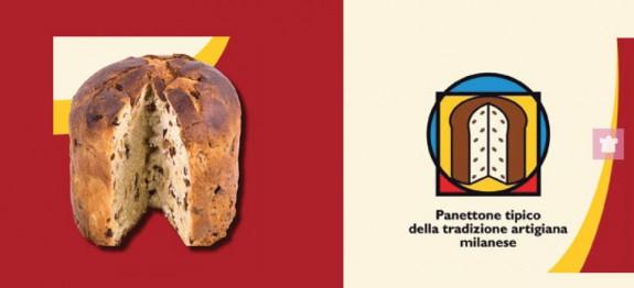 Panettone tipico milanese