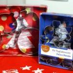 Kit tagliabiscotti natalizi Decora