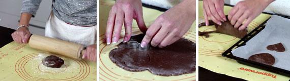 biscotti di cioccolato e arancia