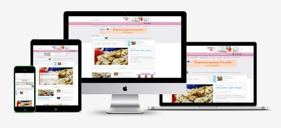 Nonsonounapasticciera.it Sito Responsive
