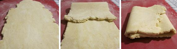 millefoglie mousse pistacchi e nocciole