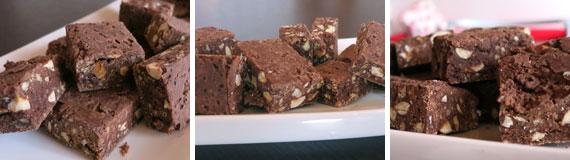 quadrotti di cioccolato