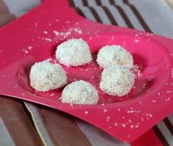 Tartufi cocco e cioccolato bianco