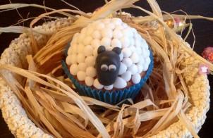 Cupcake agnellino di Pasqua