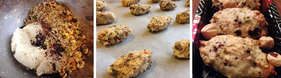 preparare biscotti alla frutta secca