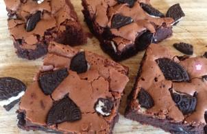 Brownies agli Oreo