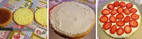 torta crema al mascarpone e cioccolato